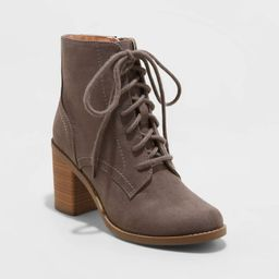 Women's Cailey Heeled Lace up Fashion Bootie - Universal Thread™ | Target
