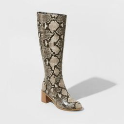 Women's Marlee Knee High Heeled Fashion Boots - Universal Thread™ | Target