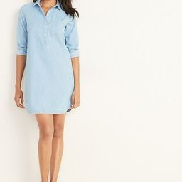 Chambray Shirt Dress for Women | Old Navy (US)