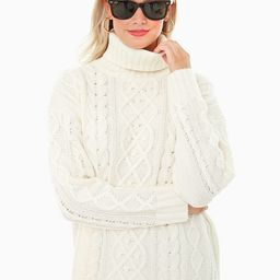 Ivory Fitzgerald Cableknit Sweater | Tuckernuck (US)