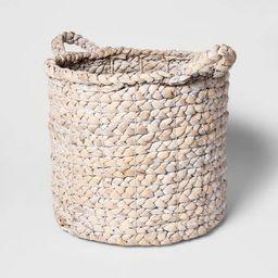 "16""x14.5"" Decorative Basket White - Threshold™ | Target"