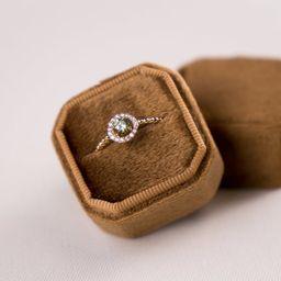 Velvet box - Velvet ring box - Octagonal ring box - Wedding - Gift - Tussock | Etsy (US)