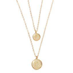 Double Coin Necklace   Amber Sceats Designer Jewellery   Amber Sceats (Global)