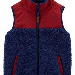 Zip-Up Sherpa Vest | Carter's