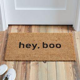 Nickel Designs, Doormat, Hey, Boo | West Elm (US)