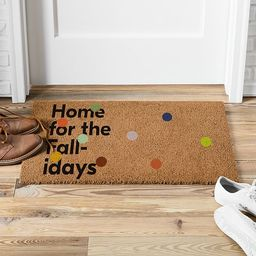 Home For The Fall-Idays Doo 18x30 Multi | West Elm (US)