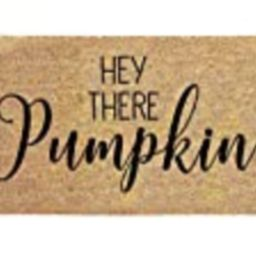 Hey There Pumpkin Door mat - Welcome Mat - Welcome Doormat - Cute Doormat - Funny Doormat - Pumpkin  | Amazon (US)
