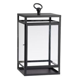 Maxwell Handcrafted Lantern, Black, Small - 16.5 | Pottery Barn (US)