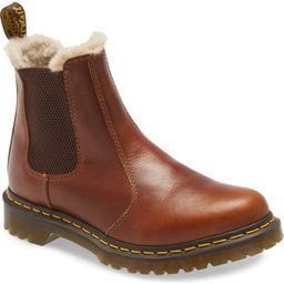 Leonore Faux Fur Lined Chelsea Boot   Nordstrom