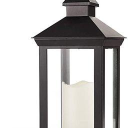 "Bright Zeal 14"" Tall Vintage Decorative Lantern with LED Pillar Candle - Outdoor Lantern Waterpro...   Amazon (US)"