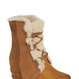 Sorel | Joan of Arctic Wedge II Genuine Shearling Bootie | Nordstrom Rack | Nordstrom Rack