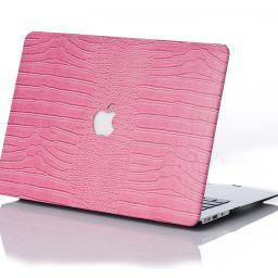 Rose Faux Crocodile MacBook Case | Chic Geeks