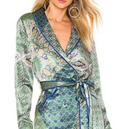 House of Harlow 1960 x REVOLVE Arthur Top in Moss Green Patchwork from Revolve.com | Revolve Clothing (Global)