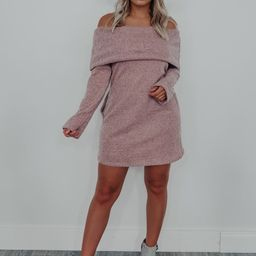 Fan Of Fall Dress: Mauve   Shophopes