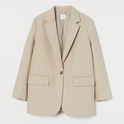 Wool-blend jacket   H&M (UK, IE, MY, IN, SG, PH, TW, HK, KR)