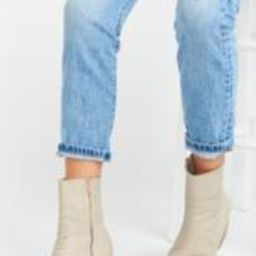 Matisse Caty Bootie ~ Ivory Snake   Show Me Your Mumu