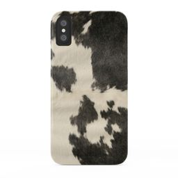 Black & White Cow Hide Phone Case by theghosttown   Society6