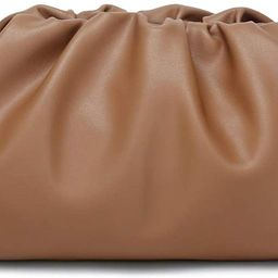 CATMICOO Cloud Crossbody Bags for Women Clutch Purse with Dumpling Shape and Ruched Detail | Amazon (US)