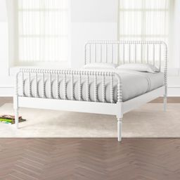 Jenny Lind White Full Bed + Reviews | Crate and Barrel | Crate & Barrel