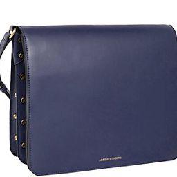 Aimee Kestenberg Leather Messenger Bag - Mariah   QVC