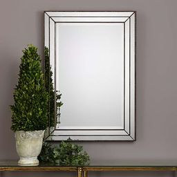 Stepped Frame Metal Mirrors | West Elm (US)