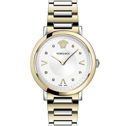 Pop Chic Lady Two-Tone IP Gold Stainless Steel Analog Bracelet Strap Watch | Saks Fifth Avenue OFF 5TH