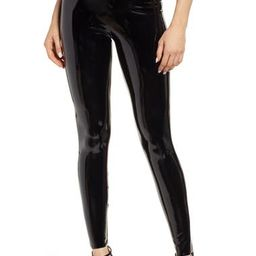 Control Top Faux Patent Leather Leggings   Nordstrom