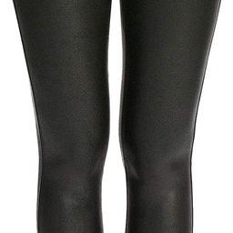 SPANX Womens Faux Leather Leggings | Amazon (US)