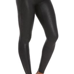 Mama Faux Leather Maternity Leggings | Nordstrom