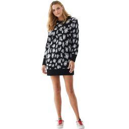 Scoop Women's Leopard Print Sweater Dress | Walmart (US)