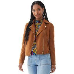 Scoop Women's Faux Suede Moto Jacket   Walmart (US)
