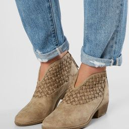 Petra Weaved Ankle Boot   Buckle