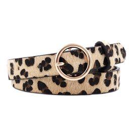Women Leopard Print Leather Belt with Alloy Buckle Ladies All Seasons Fashion Buckle Decorative B...   Walmart (US)