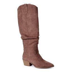 Scoop Women's Wendy Slouch Western Boots | Walmart (US)