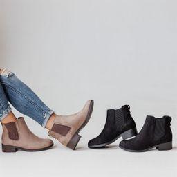 Chelsea Wedge Booties | Jane