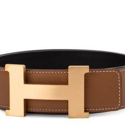 Hermes Constance Belt Buckle & Reversible Leather Strap 1.75 Width Natural | StockX