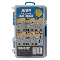 Kreg Pocket-Hole Screw Starter Kit (260-Pack)   The Home Depot