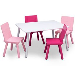 Delta Children Kids' Table and Chair Set 4 Chairs Included - /Pink   Target