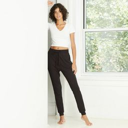 Women's High-Rise Waffle Knit Jogger Pants - Wild Fable™ | Target