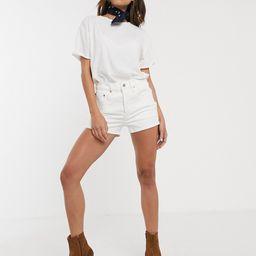 Levi's 501 original shorts-White   ASOS (Global)