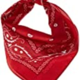 amscan Red Bandana, Party Accessory, 12 Ct.   Amazon (US)