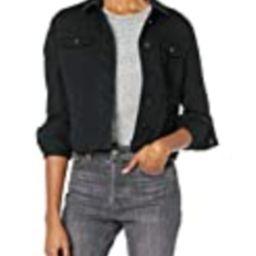 dollhouse Women's Black Denim Jacket, Small | Amazon (US)