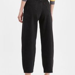 Levi's High-Waisted Balloon Leg Jean - Black Book | Urban Outfitters (US and RoW)