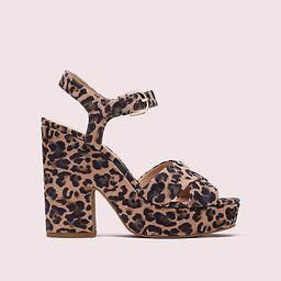 Kate Spade Grace Leopard Platform Sandals, Tawny Multi - 10.5 | Kate Spade (US)