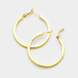 Trista 14K Gold Filled Hoops - Gold | Alison + Aubrey