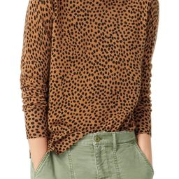 Leopard Dot Cashmere Crewneck Sweater | Nordstrom