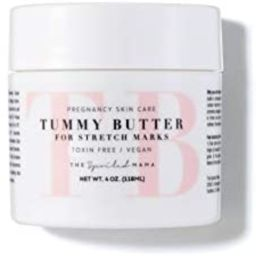 Tummy Butter Stretch Mark Prevention Cream - Safe for Pregnancy - C-Section Scar Lotion for Dry P... | Amazon (US)
