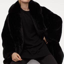 Faux fur coat   H&M (UK, IE, MY, IN, SG, PH, TW, HK)