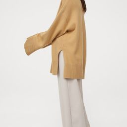 Oversized wool-blend jumper | H&M (UK, IE, MY, IN, SG, PH, TW, HK)