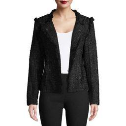 Women's Structured Tweed Jacket   Walmart (US)